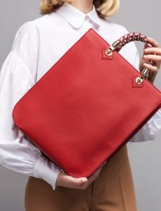 Copy of Cardinal Red Sophia Tote Bag, illicia