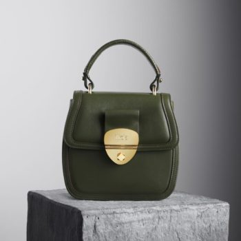 Kale Leather top handle grace handbag - Illicia