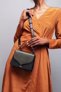 Kale and Black Celina 2.0 Top Handle Bag, illicia