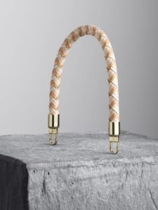 Lamb and Nude woven leather handle, illicia